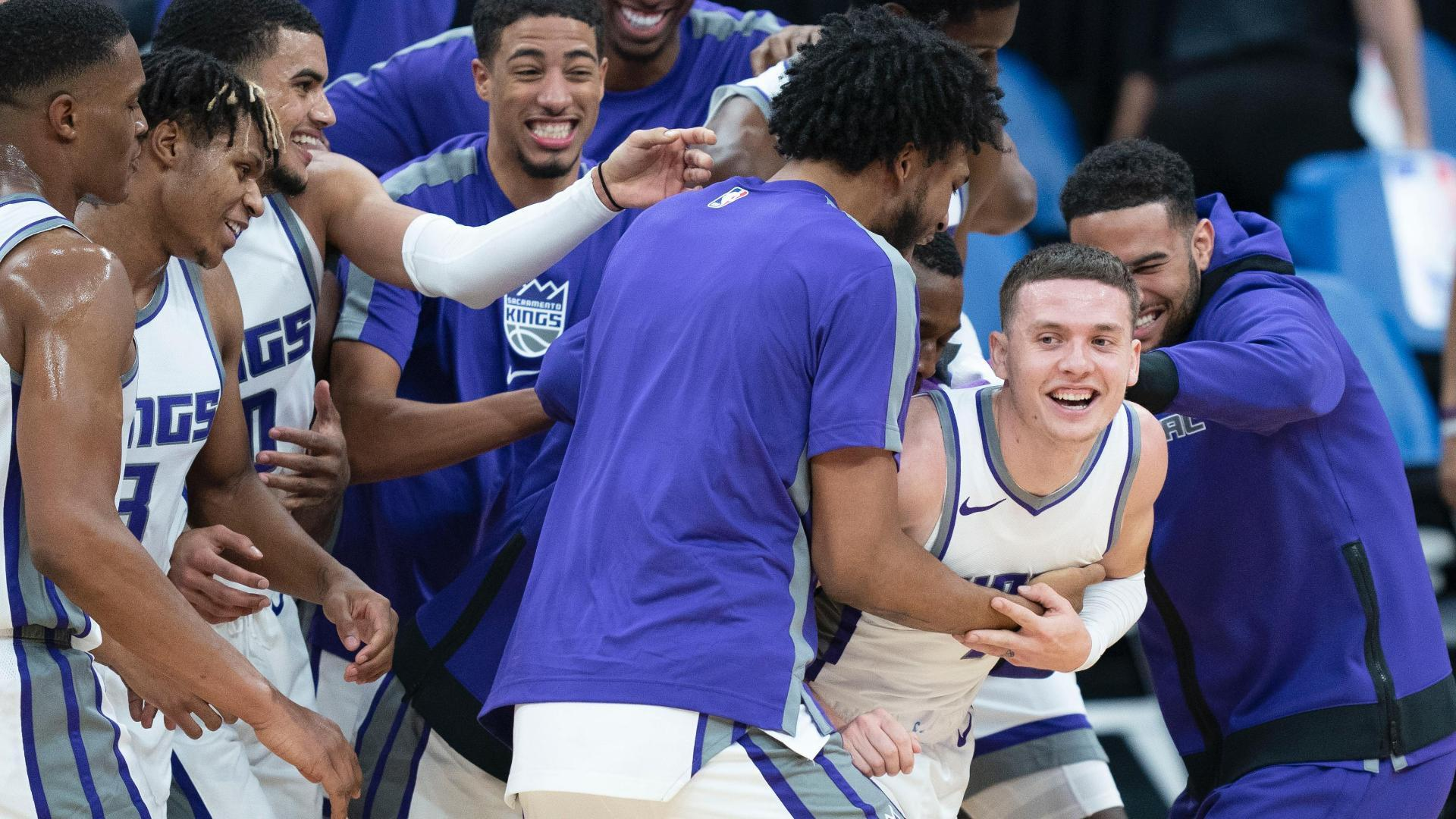 Kyle Guy nails game-winning 3 for Kings vs. Warriors