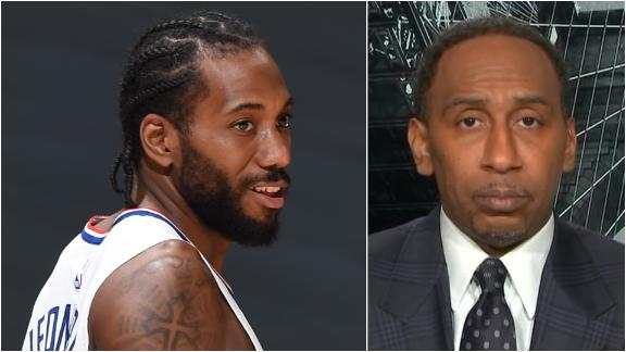 Why Stephen A. is saying Kawhi hasn't been worth it for Clippers