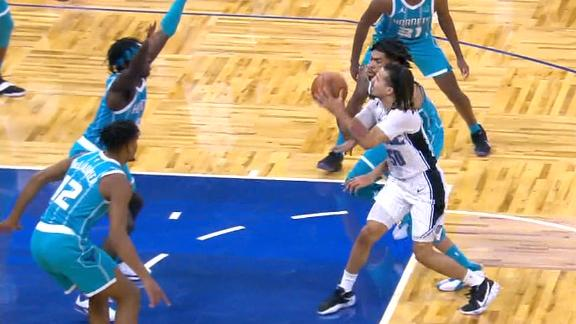 Cole Anthony's late floater wins it for the Magic