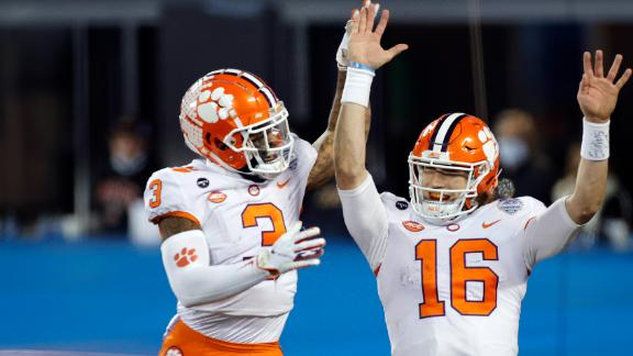 Lawrence leads Clemson to dominant ACC title victory