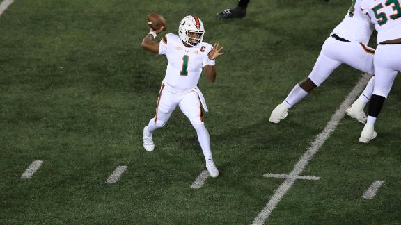 The best of D'Eriq King's first year at Miami