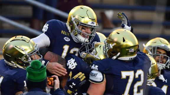 How can Notre Dame upset Alabama?