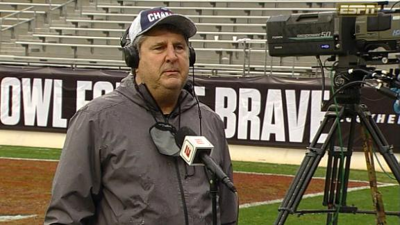 Leach reacts to massive brawl after Mississippi State's bowl win