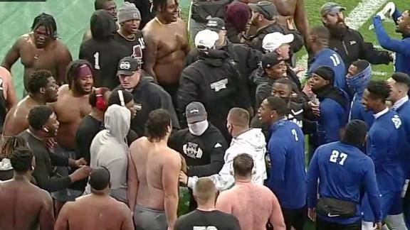 Tulsa, Mississippi State have skirmish before the game