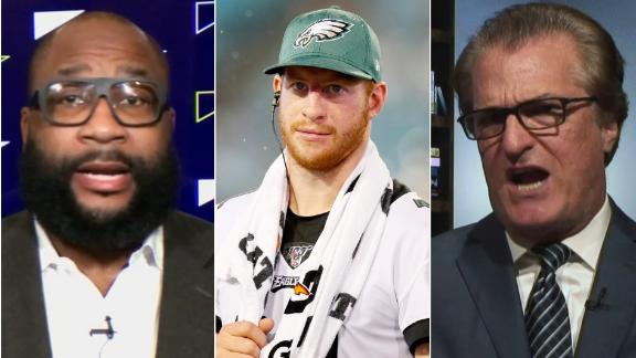 Kiper and Spears get heated over Wentz's future with the Eagles