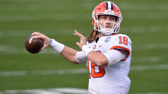 The best plays of Trevor Lawrence's 2020 season at Clemson