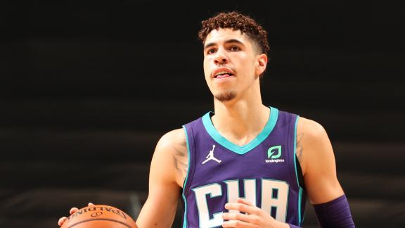 LaMelo Ball becomes youngest NBA player to record triple-double