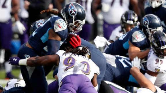 Griese, Riddick praise Ravens' defense for slowing down Henry