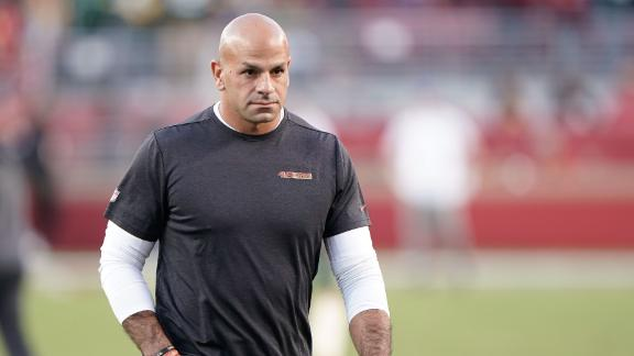How did the Jets beat out other teams for Robert Saleh?