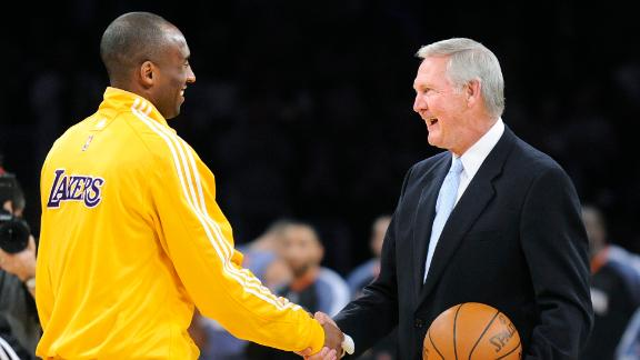 Jerry West reflects on personal relationship with Kobe