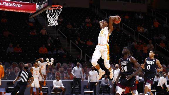 Vols slip away with gritty win over Hail State