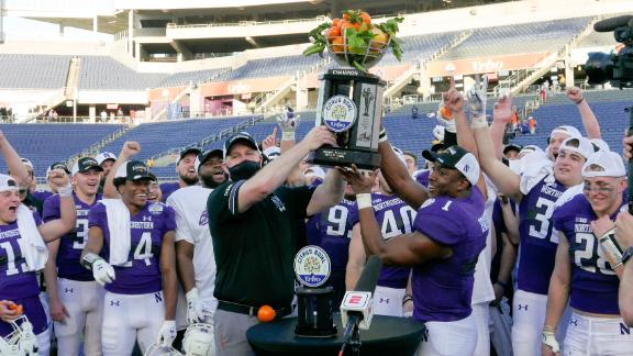 Northwestern caps season with Citrus Bowl win vs. Auburn