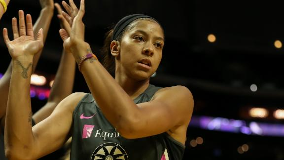 What made Candace Parker choose the Chicago Sky?