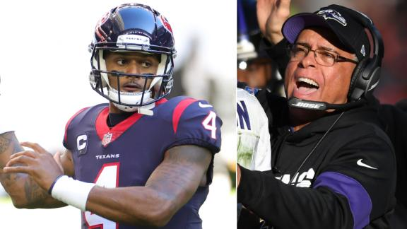 Woody: David Culley can't convince Deshaun to stay in Houston