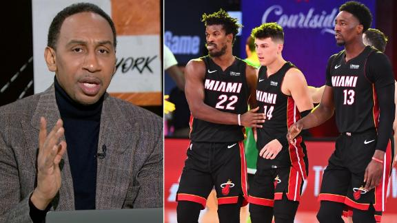 Stephen A. sends a message to the Heat: 'Don't be a fluke'