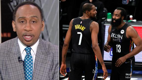 Stephen A. is certain the Nets will be in the NBA Finals
