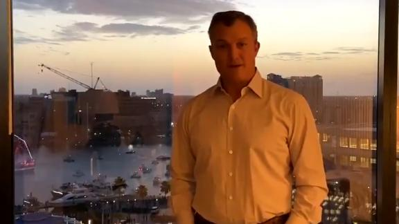 John Lynch delivers message of thanks after HOF announcement