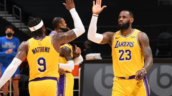 LeBron provides heroics in another OT battle for Lakers