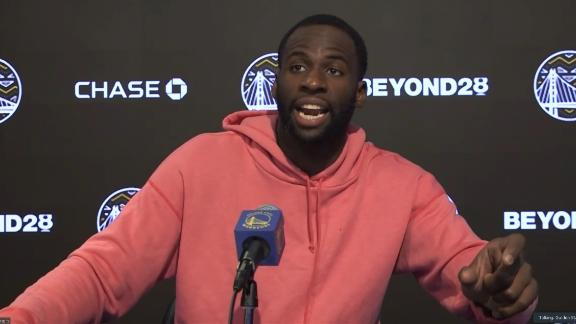 Draymond Green sounds off on double standards between teams and players