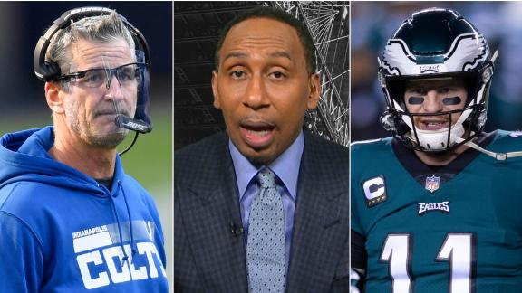 Stephen A.: Why trading for Wentz is a good move for Colts