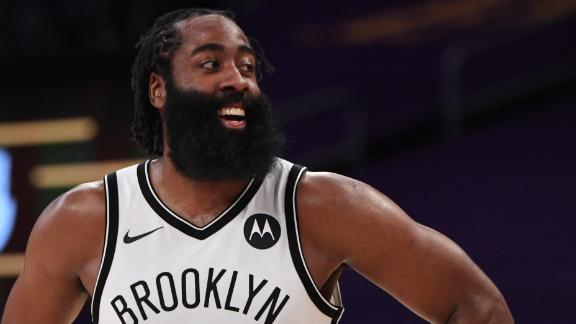 Harden, Nets roll past the Lakers