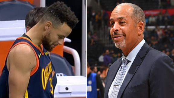 Dell Curry on his son's whereabouts: 'Want me to send a text to his phone?'