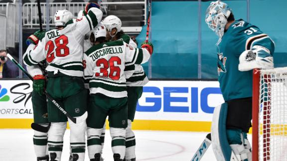 Kaprizov's goal in 1st puts Wild up for good