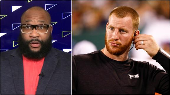 Spears sounds off on MVP predictions for Wentz