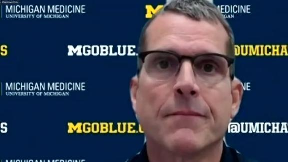 Harbaugh says there was no disconnect among Michigan staff, players in 2020