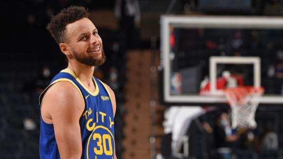 How Steph's off-ball movement helps his prolific shooting