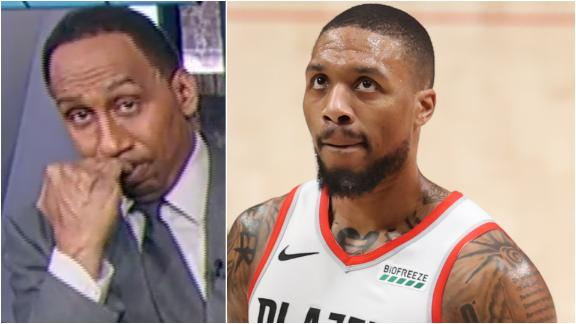 Why Stephen A. wants to see Lillard in a larger market