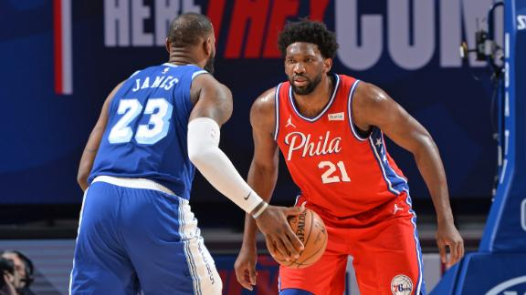 How significant is Embiid overtaking LeBron as MVP favorite?