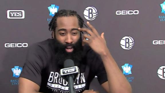 Harden surprised about passing Bird: 'In what?'
