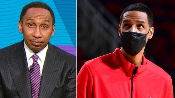 Stephen A. absolves Silas of all blame for Rockets' 20-game skid