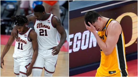 What's the reason for the Big Ten's struggles in the NCAA tournament?