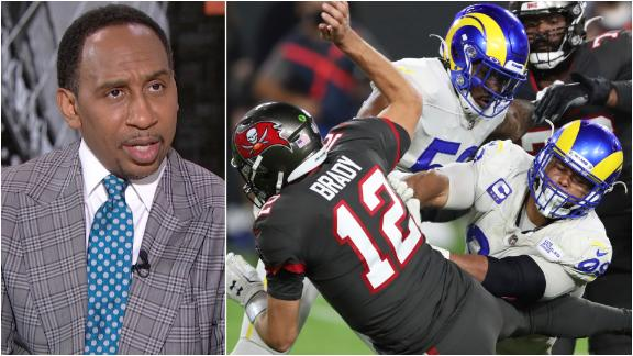 Why Stephen A. sees the Rams as the biggest threat to the Bucs in the NFC