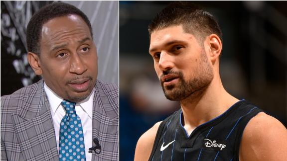Stephen A. calls Vucevic trade to the Bulls 'big-time'