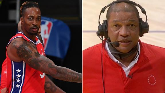 Dwight gets ejected, prompts 'clowns' quip from coach Rivers