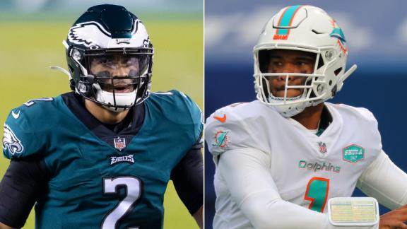 What Eagles & Dolphins swapping picks means for Hurts, Tua
