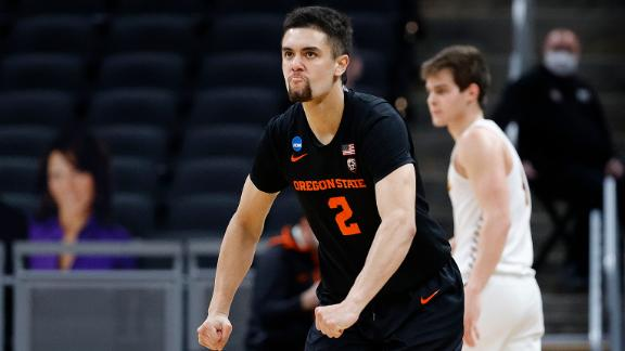 Lucas' late 3 helps punch Oregon State's ticket to the Elite Eight