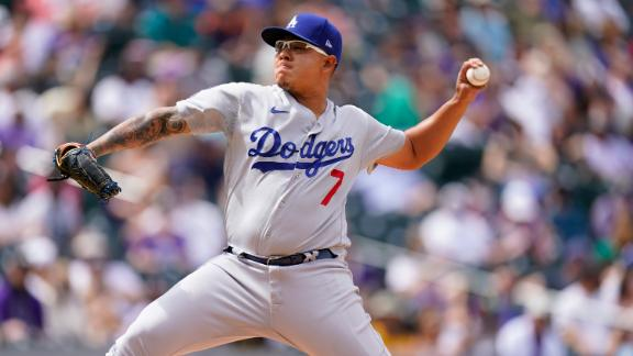 Urias tosses seven solid innings for Dodgers