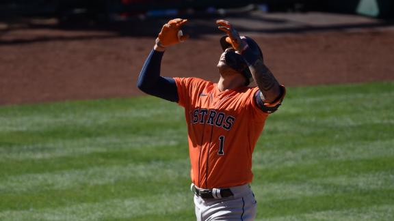 Correa's homer puts Astros up for good