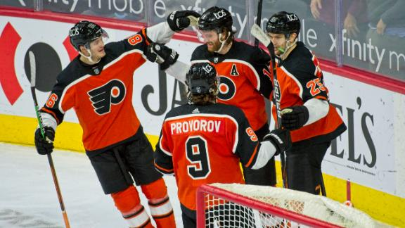Couturier's goal helps Flyers take down Bruins