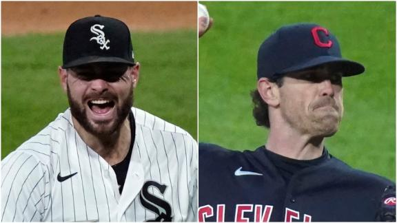 Giolito, Bieber dominate and combine to throw 16 scoreless frames