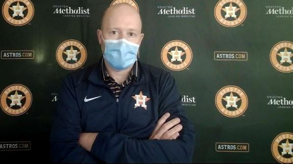 Astros GM: 5 players on IL due to health and safety protocols