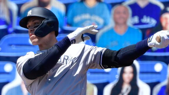 Judge rises to the occasion with two dingers