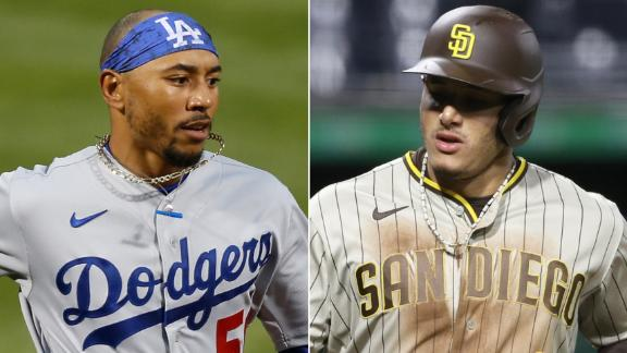MLB power rankings: Are the Dodgers and Padres the best teams in baseball?