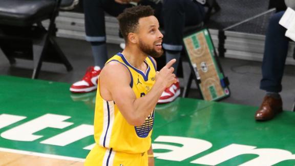 Curry erupts for 47 points vs. Celtics