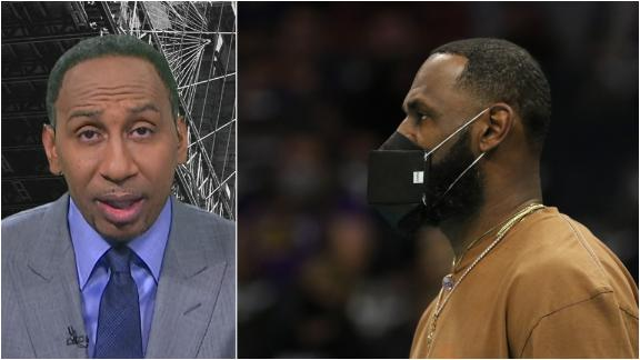 Stephen A. reacts to LeBron's tweet on police shooting of Ma'Khia Bryant