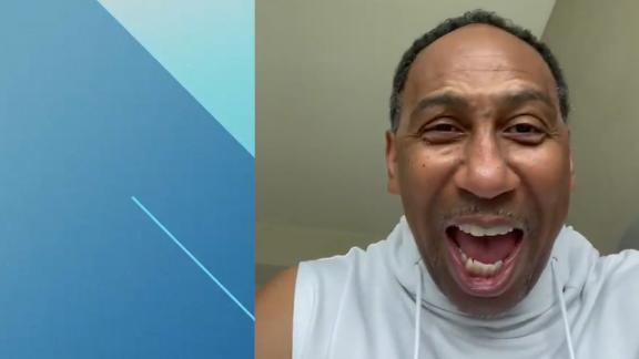 'Go New York Go New York Go' ... Stephen A. fired up over Knicks 9th straight win